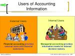 users of accounting information9