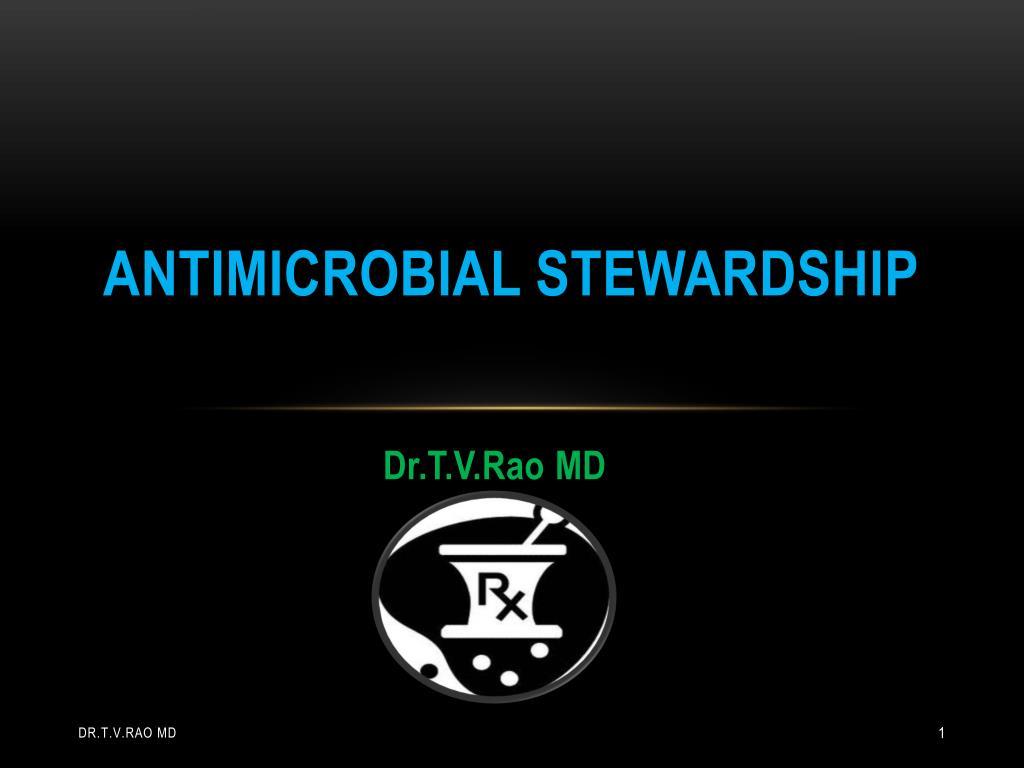 antimicrobial stewardship l.