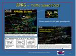 aprs traffic speed posts