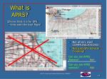 what is aprs
