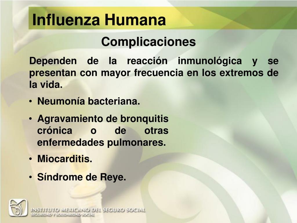 Influenza Humana
