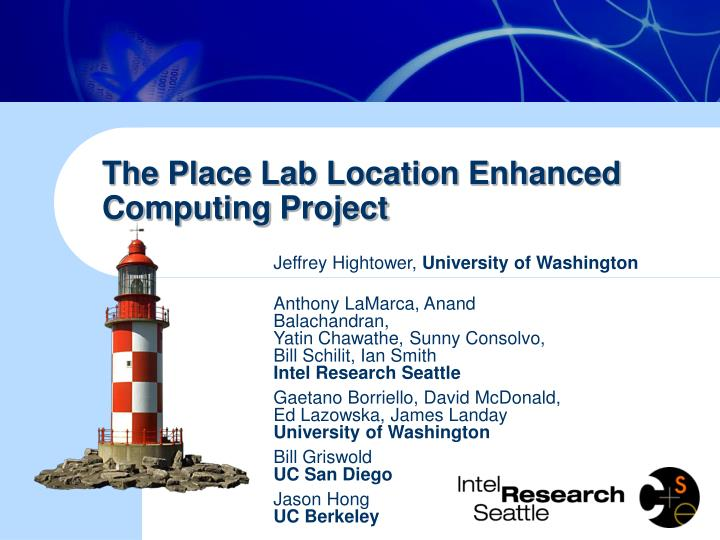 the place lab location enhanced computing project n.