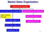 market sales organization