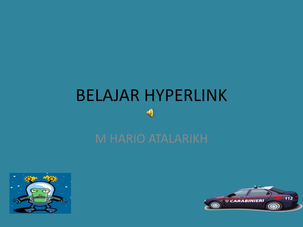 belajar hyperlink l.