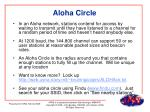 aloha circle