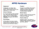 aprs hardware
