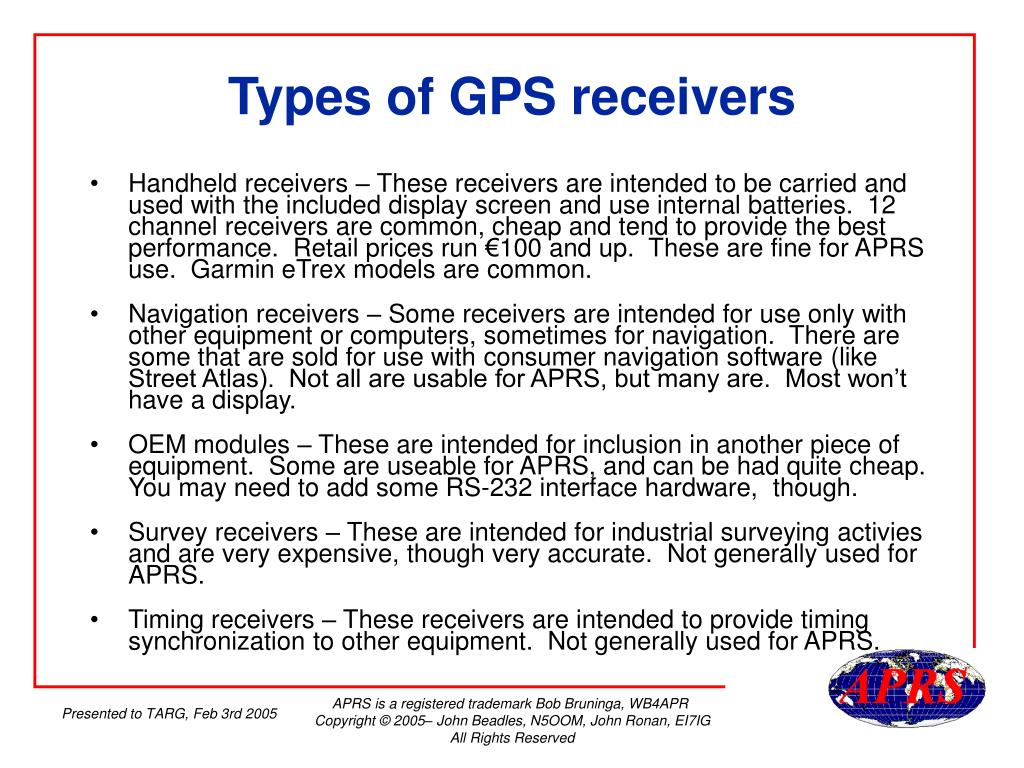 PPT - Introduction to APRS PowerPoint Presentation - ID:209853