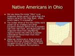native americans in ohio