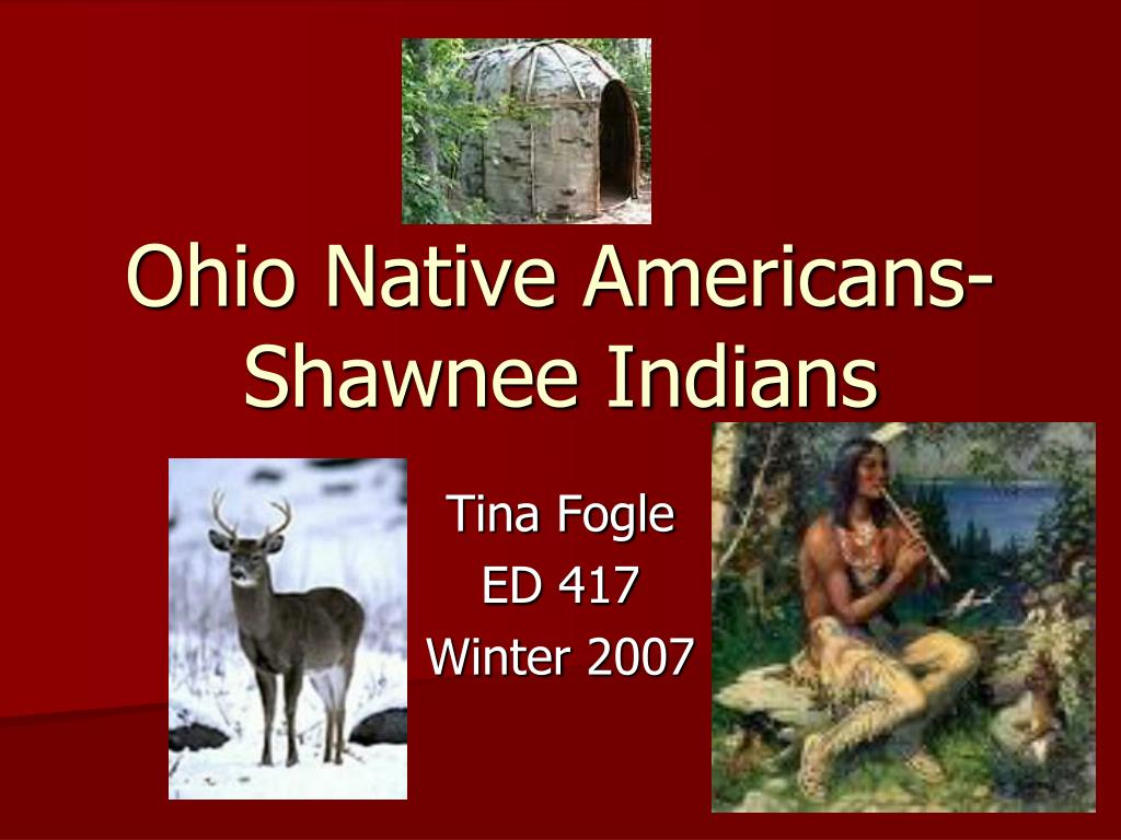 ohio native americans shawnee indians l.
