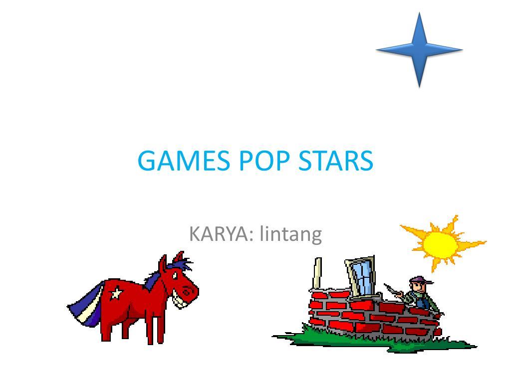 games pop stars l.