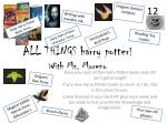 all things harry potter with ms moreno
