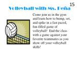 volleyball with ms pe a