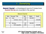 1 journalizing