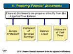 6 preparing financial statements