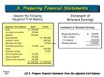 6 preparing financial statements44