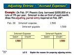 adjusting entries accrued expenses40