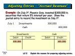 adjusting entries accrued revenues36