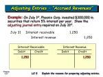 adjusting entries accrued revenues37