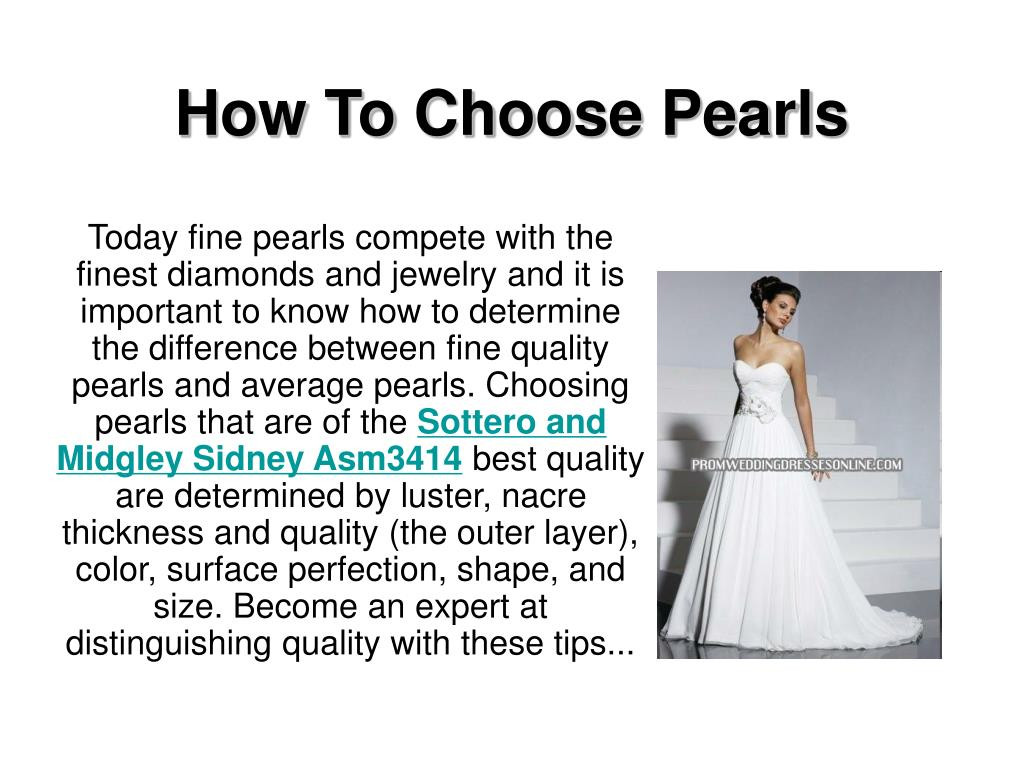 how to choose pearls l.