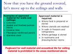 now that you have the ground covered let s move up to the ceilings and walls