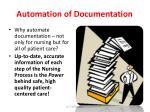 automation of documentation