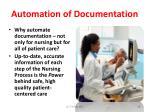 automation of documentation28