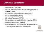 charge syndrome