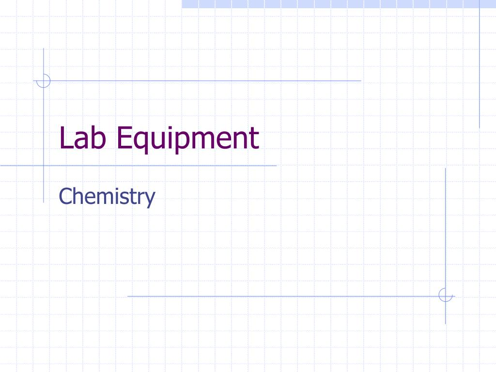lab equipment l.