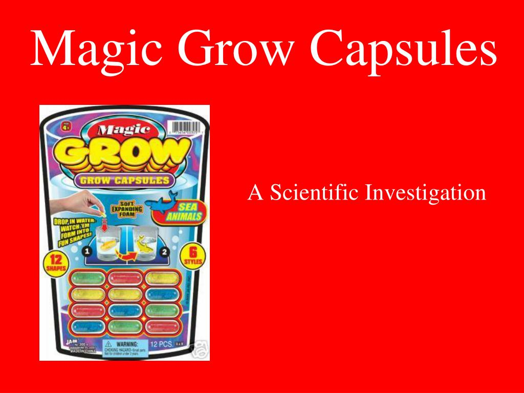 magic grow capsules l.