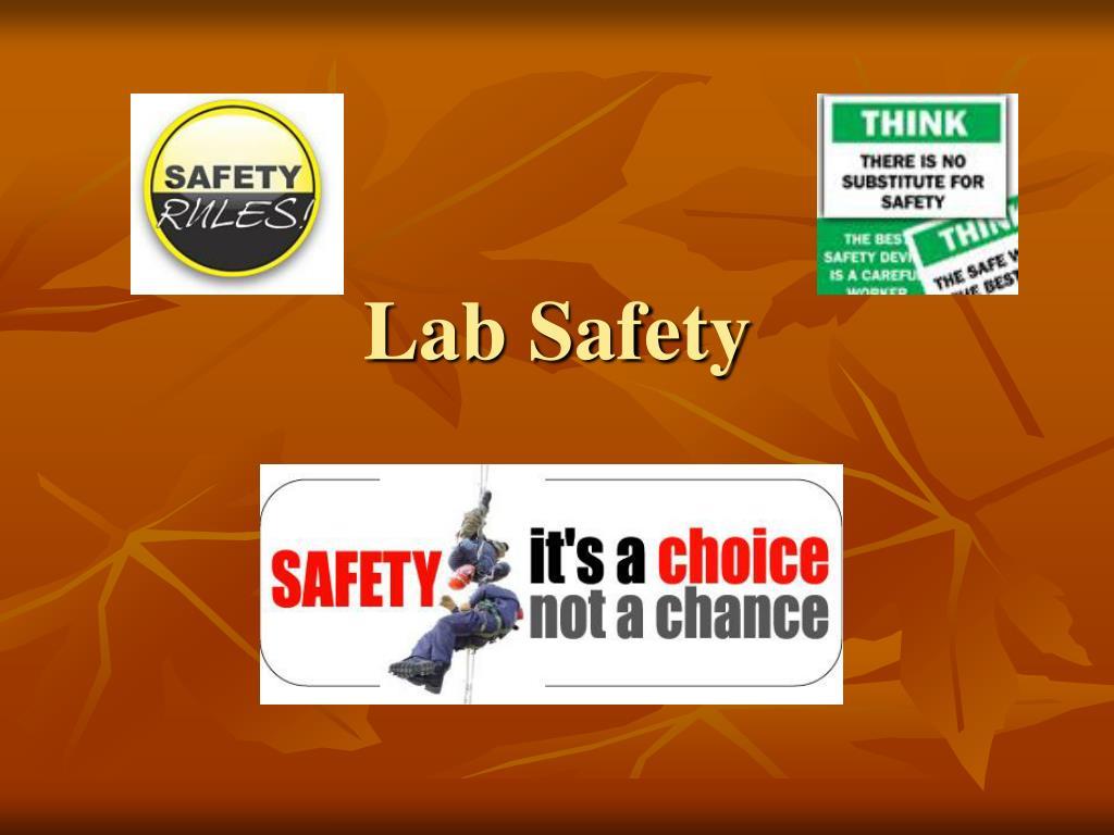 lab safety l.