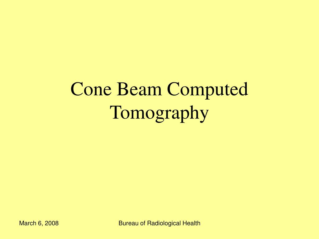 cone beam computed tomography l.