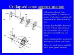 collapsed cone approximation
