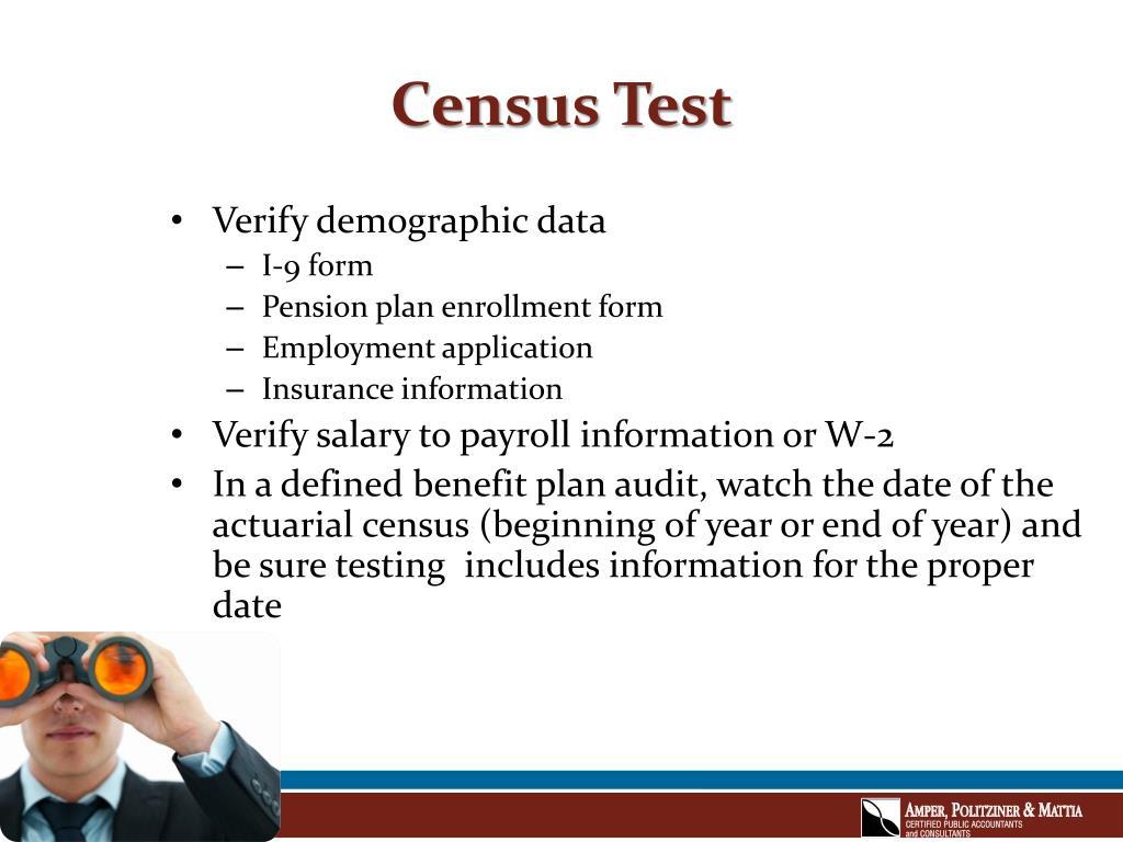 Census Test