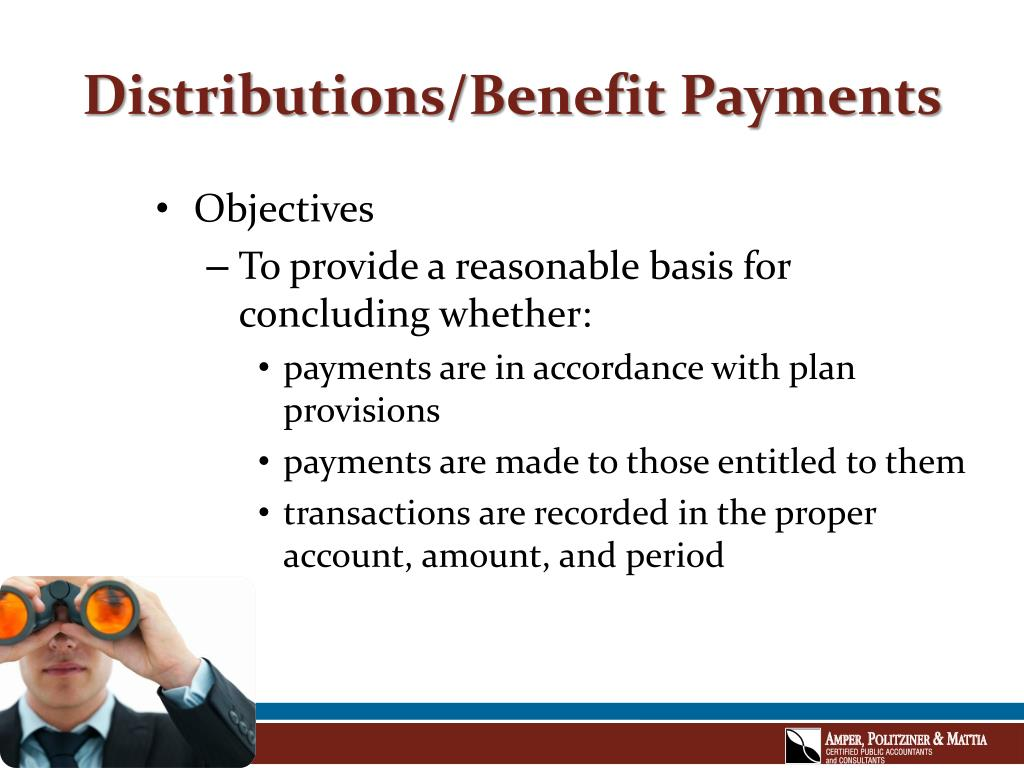 Distributions/Benefit Payments