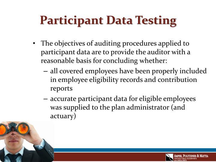 Participant data testing2