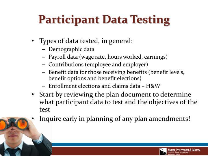 Participant data testing3