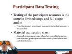 participant data testing4