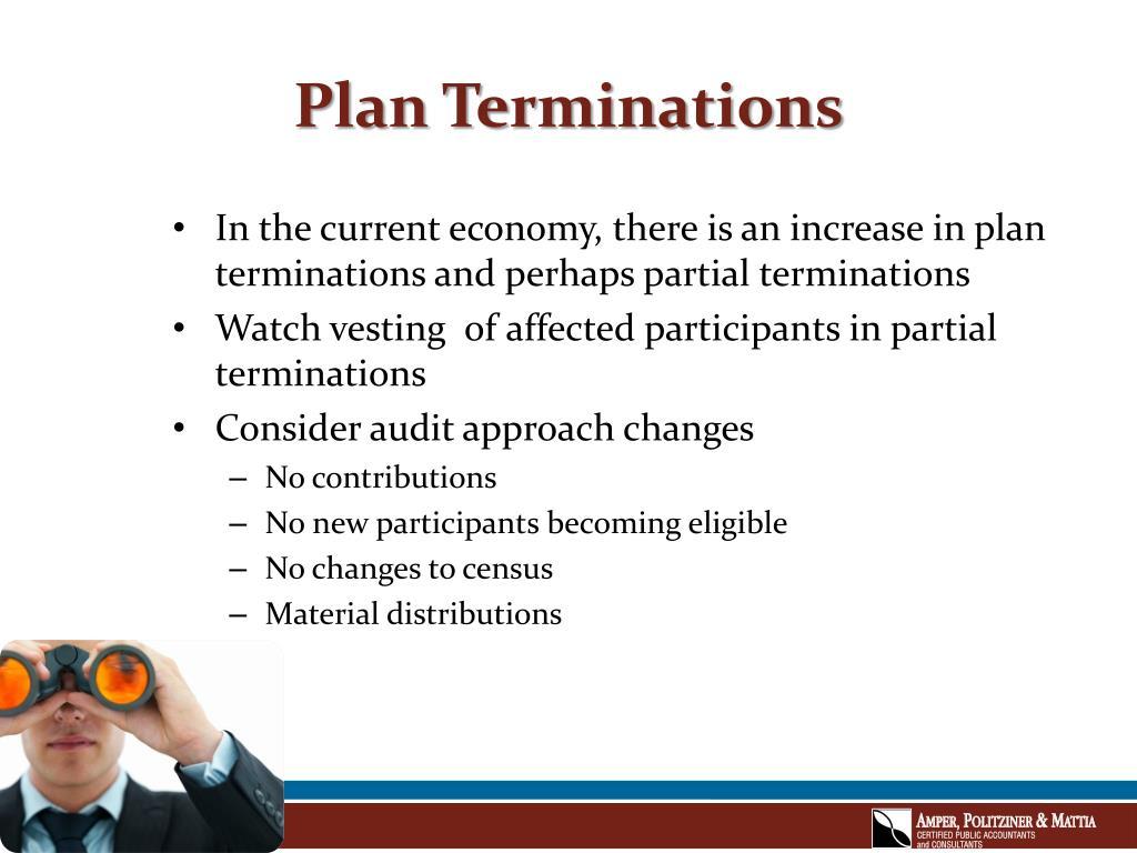 Plan Terminations