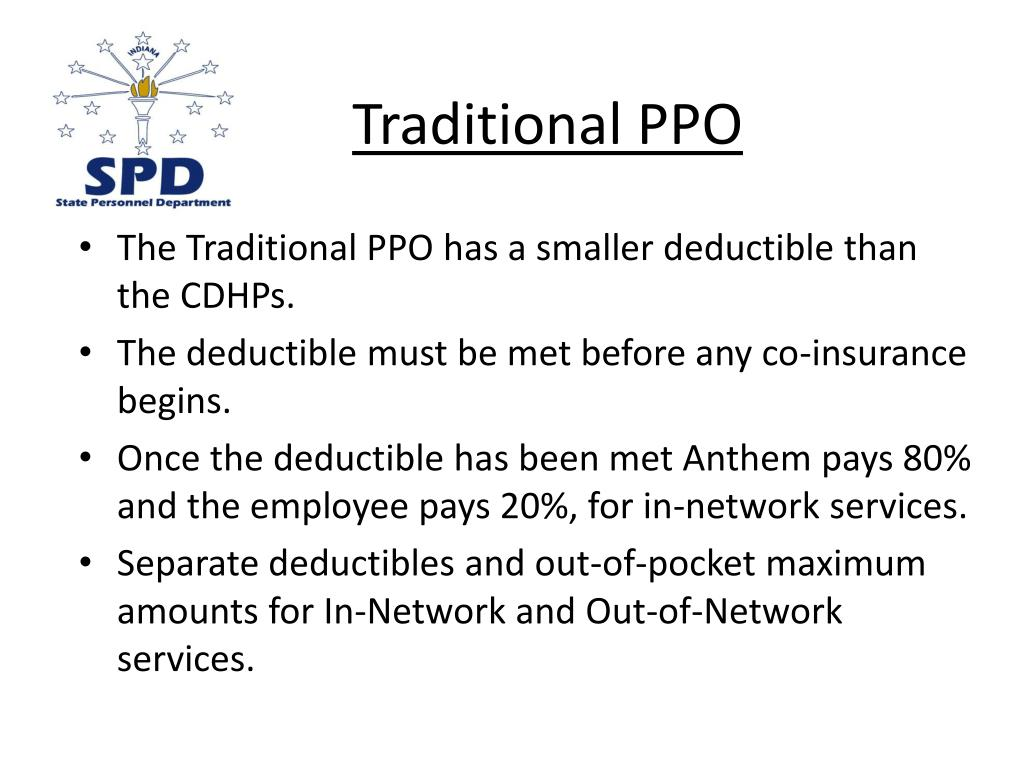 Traditional PPO