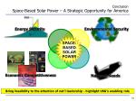 conclusion space based solar power a strategic opportunity for america