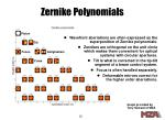 zernike polynomials