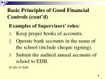 basic principles of good financial controls cont d8