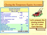 closing the temporary equity accounts1