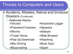 threats to computers and users8
