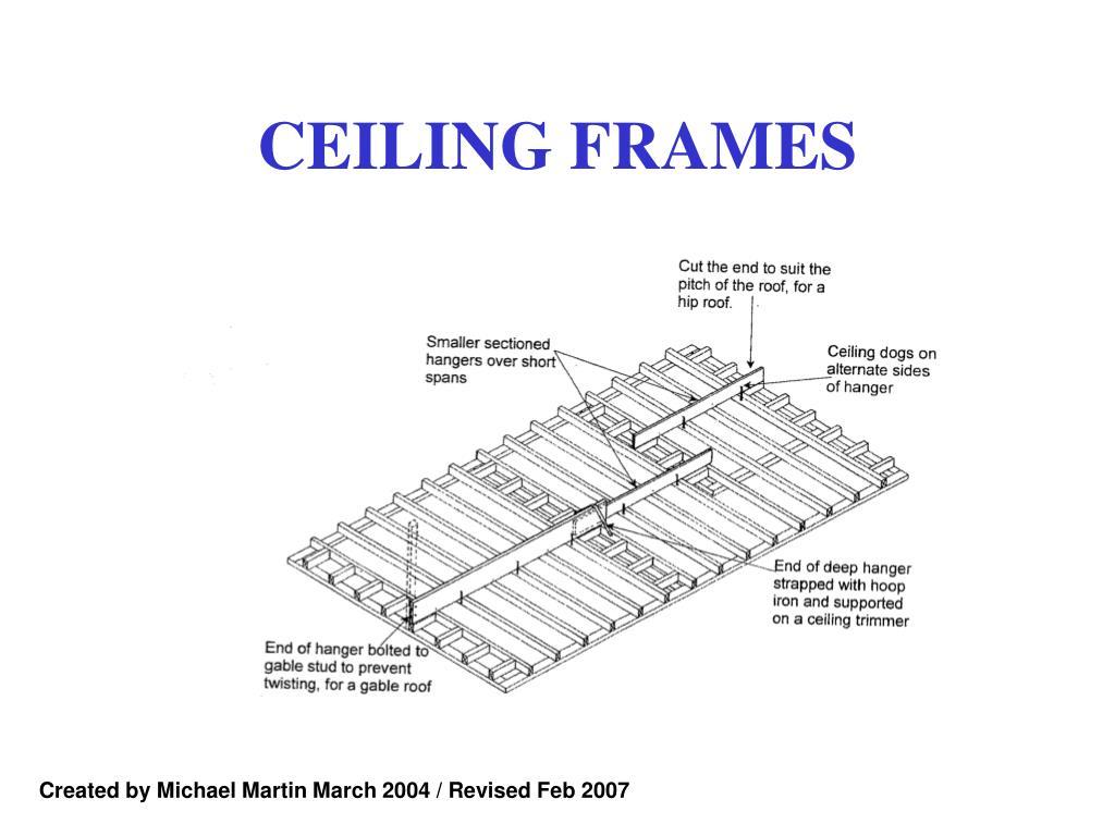 ceiling frames l.