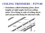 ceiling trimmers p279 80