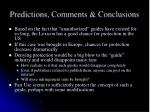 predictions comments conclusions1