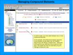 managing compound elements