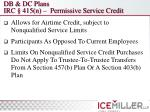 db dc plans irc 415 n permissive service credit
