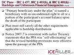 dc plans irc 457 irc 403 b irc 401 k hardships and unforeseen financial emergencies cont d